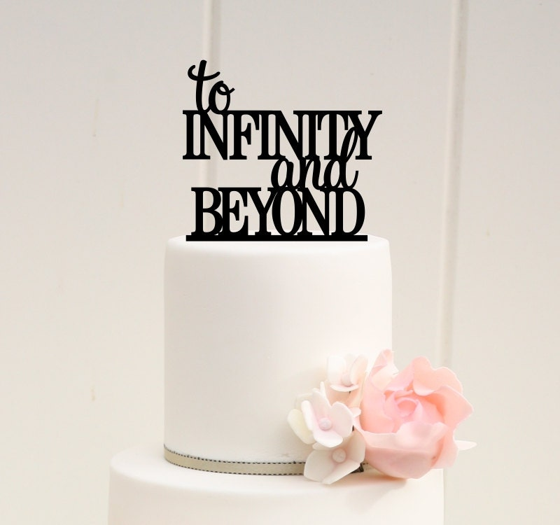 Wedding Cake Topper To Infinity And Beyond Cake Topper Toy - Ruby Wedding Cake Toppers