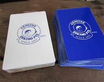 Vintage Eskimo Pie Playing Cards