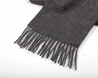 scarf / scarves / wool scarf / wool scarves / grey scarf / gray scarf / grey scarves / gray scarves / baby alpaca scarf