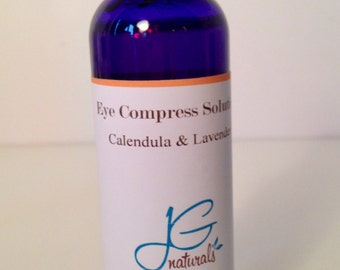 Natural Eye Solution Compress, Hydrating, Soothing