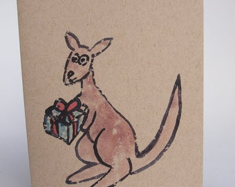 Greeting Card - Roo Gift