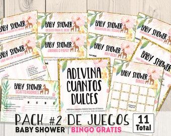 a04c18323 Juegos para baby shower