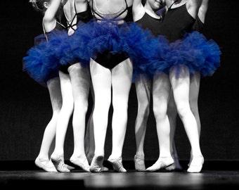 Dance Troop in Blue Tutu