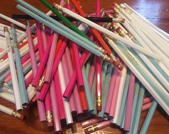Assortment of Misprinted Pencils