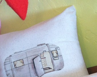 Airstream Pillow Cover