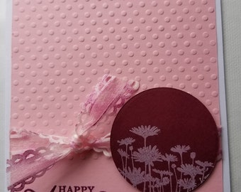 Gift, Homemade Card, Handmade Card, Note Card, Anniversary Card, All Occasion ,Greeting Card, Cards With Envelopes