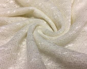 Sweater Knit Fabric  1-1/4 Yards