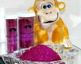 Aleshia Pink Extra Fine Glitter 0.008 - Many Other Color Options Available - 2 Sizes - Visit Our Shop! B-59
