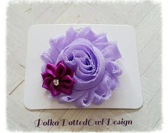 Lavender purple hair clip, barrette, infant hair clips, teen hair clips, stocking stuffers, baby shower gift, hair accessories