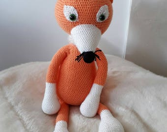 Toy / blanket crochet - Amigurumi Fox