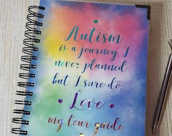 Autism planner, chronic pain diary, autism diary, pain diary, fibromyalgia book, chronic pain,  ASD planner,  autism book, symptom diary