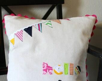 Hello Spring Pillow Cover