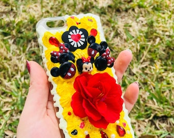 Minnie Mouse Decoden Phone Case iPhone 6/6S