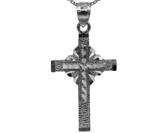 925 Sterling Silver Cross Necklace Pendant