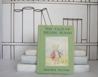 The Tale of Pigling Bland by Beatrix Potter (Vintage, Children)
