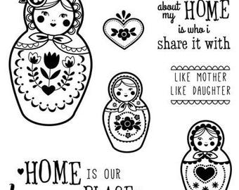 Happy Place S1403 CTMH Close To My Heart Stamp Set