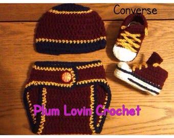 Crochet basketball outfit