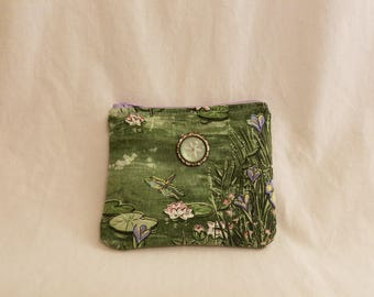 Small Coin Purse, Change Purse, Small Zipper Wallet, Spring