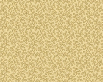 Andover Fabrics - Vines and Berries - Wheat by Edyta Sitar Of Laundry Basket Quilts