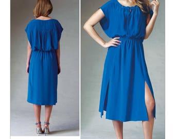 VOGUE 1379 DRESS PATTERN Tracy Reece American Designer Size 6 8 10 12 14 UNCuT Womens Sewing Patterns