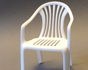 Garden Chair 3d Scale 1:12