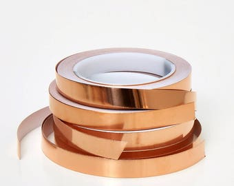 Metallic Copper Foil tape (real copper metal foil backed with adhesive)