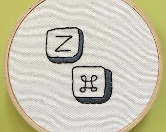 Hand Embroidery, Undo