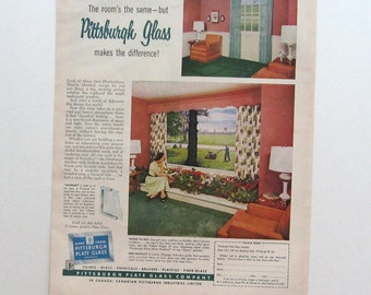 Cadillac Sixty Special. Vintage ad 1955 House and Garden