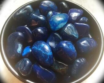 Blue Agate Throat Chakra Healing Stone