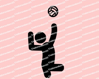 Sitting Volleyball Decal disability sticker car truck disabled adaptive sports handicap parking rehab Paralympics
