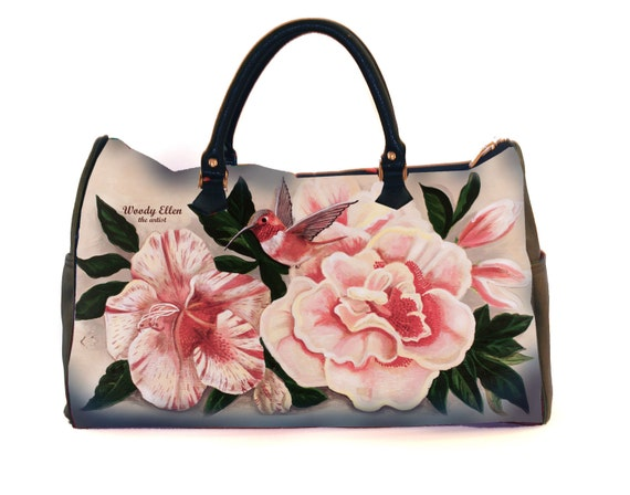 Travel bag,Honeybird,weekend bag,birthday gift,gifts for her,gifts for mom,Woody Ellen handbag,christmas gifts,christmas gift ideas,gifts