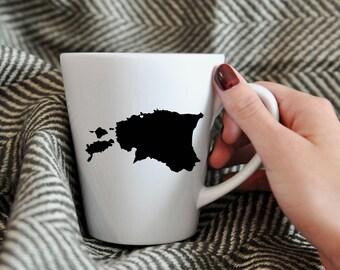 Estonia Mug.  Hometown, Adoption, Travel, Mission, Custom