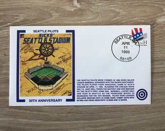 SEATTLE PILOTS - 30th Anniversary Cachet (1969-1999)