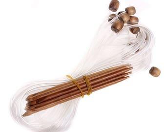 SET crochet needle / Crochet Tunisian circular