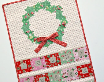 Christmas Cheer Advent Calendar Pattern