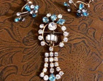 Vintage Gold Filled Demi Parure Jewelry Set