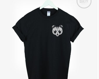 MEXICAN CANDY PANDA t-shirt shirt tee unisex mens womens aztec boho hamsa tumblr pinterest instagram graphic funny 100% cotton *brand new