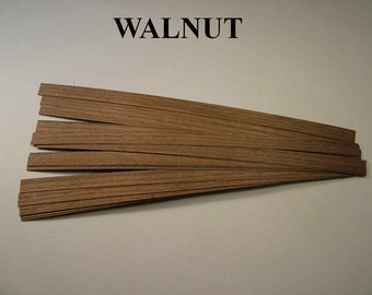 DOLLHOUSE FLOORBOARDS ,WALNUT these boards are also available in six different hardwood types