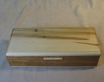Ambrosia Maple and Cherry Jewelry Box - LB 56