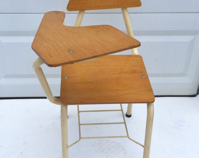 Mid-Century School Desk