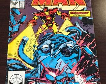 Vintage Marvel Iron Man No. 245