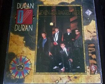 Duran Duran- Seven & the Ragged Tiger Vinyl LP (1983)