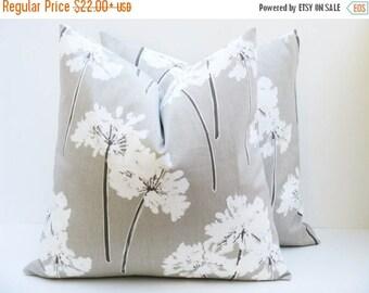15% Off Sale Cream Pillow Euro Pillow sham Euro Pillow Covers - Pillow Sham Euro Pillows Tan Pillow Floor Seating  Brown Pillow  Fall Decor
