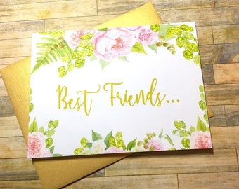 Pregnancy Announcement Card - Pregnancy Reveal to Best Friend - New Auntie Announcement - Having a Baby Card - I'm Prego Card - GRACEFUL