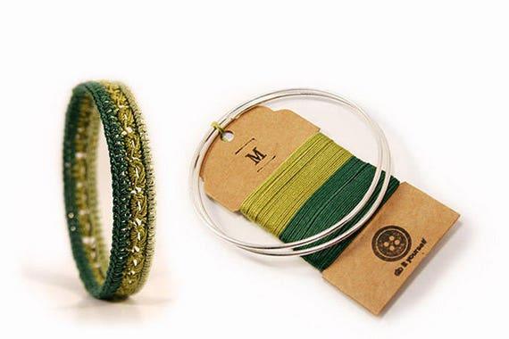 DIY Kit Armband Armreif Häkelschmuck DIY Schmuck Kit diy
