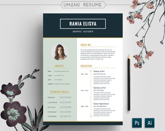 Resume Template Free Cover Letter For Word AI PSD DIY - Creative resumes templates free