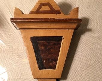 Vintage Wood Architectural Piece