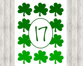 Digital St. Patrick's Day Printable | March 17
