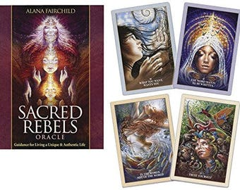 """6 Card Sacred Rebels Oracle Card Video Reading """"The Egg"""" Spread!"""