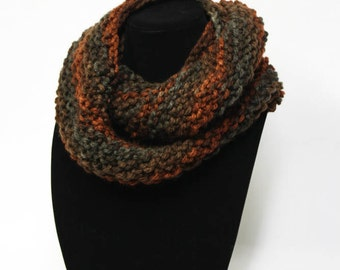Enchanting Cowl knitting PATTERN - warm bulky cowl - permission to sell finished items